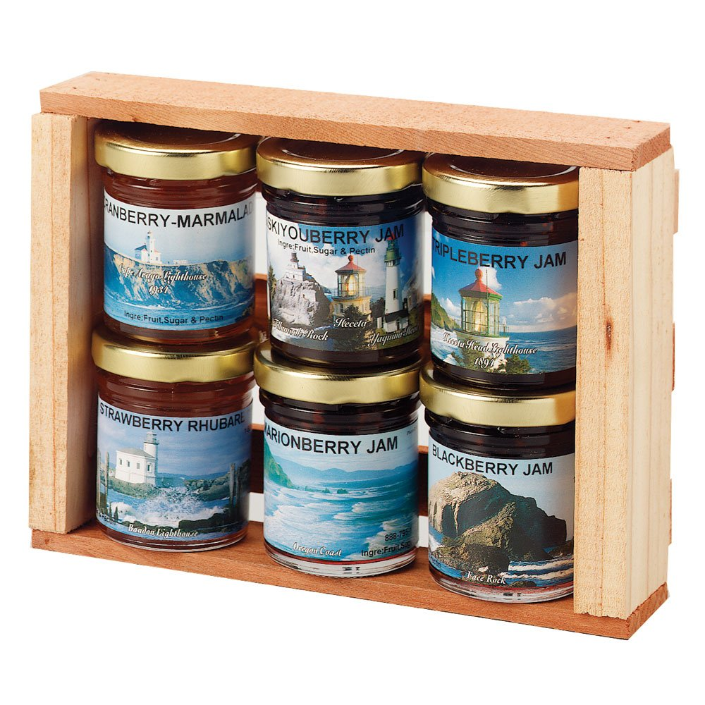 Misty Meadows Scenic Oregon Jam Gift Set 6 pk. by Made in Oregon