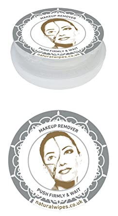 Natural Pop Up maquillaje Remover facial toallitas