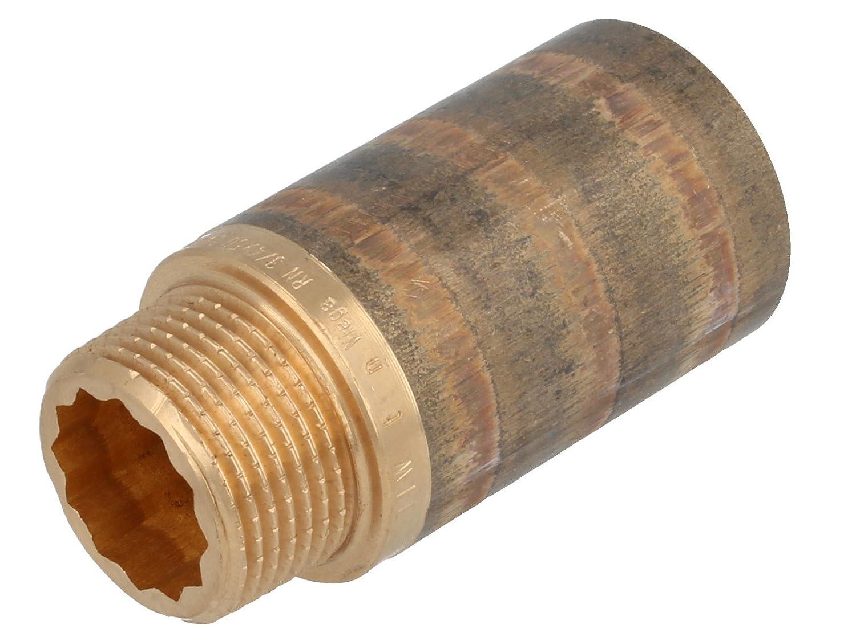 1//2 Zoll x 12.5 mm 10 St/ück Viega 364854 Verl/ängerung Modell 3525 Rotguss