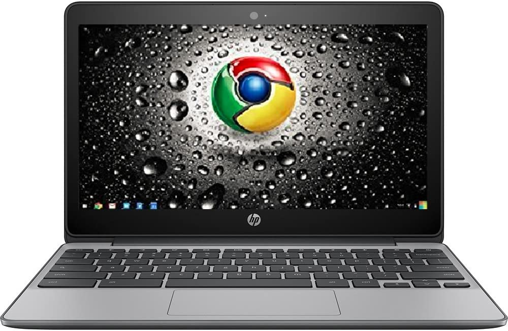 Premium High Performance HP 11.6-inch Chromebook Intel Celeron Dual-Core Processor 4GB RAM 16GB eMMC Hard Drive 802.11AC WIFI HDMI Webcam Bluetooth 12-hour Battery Chrome OS-Black