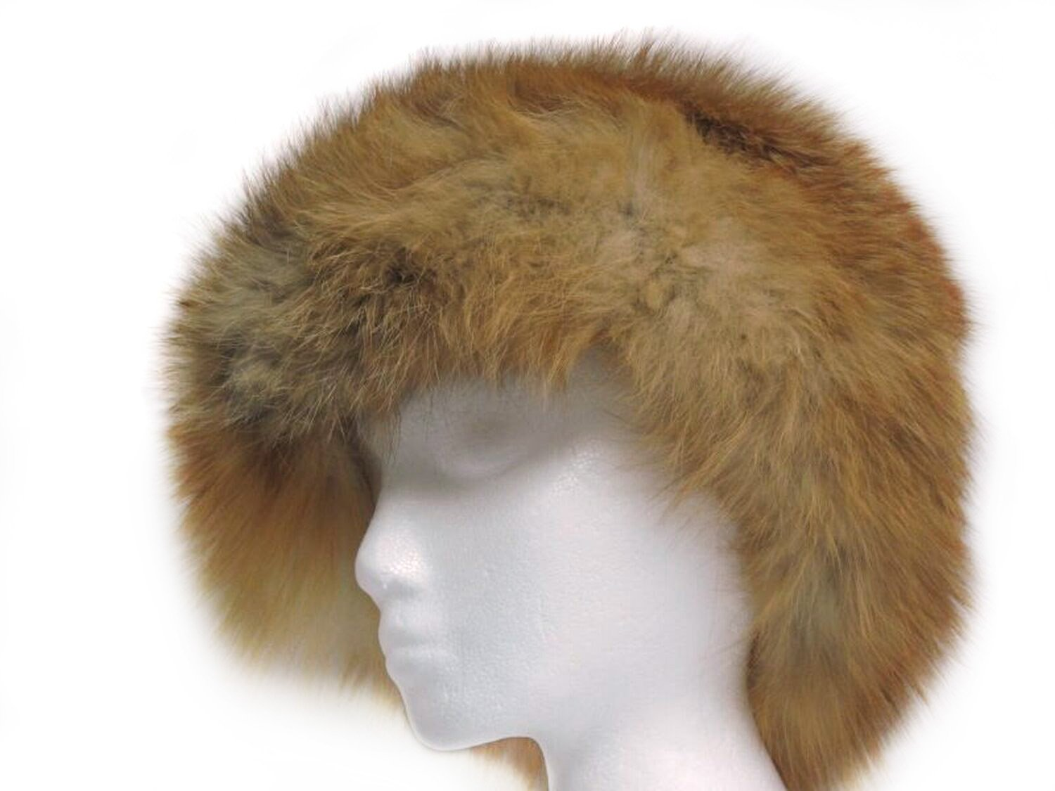 Natural Red Fox Bubble Beret S by FursNewYork