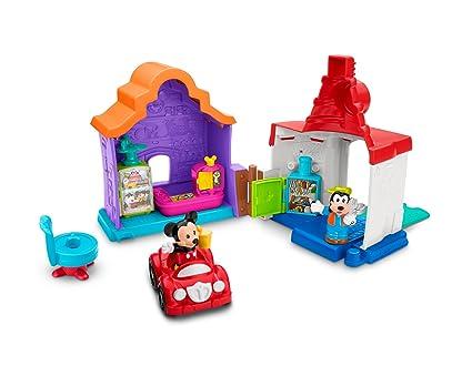 Little People Garage : Amazon.com: fisher price little people magic of disney mickey