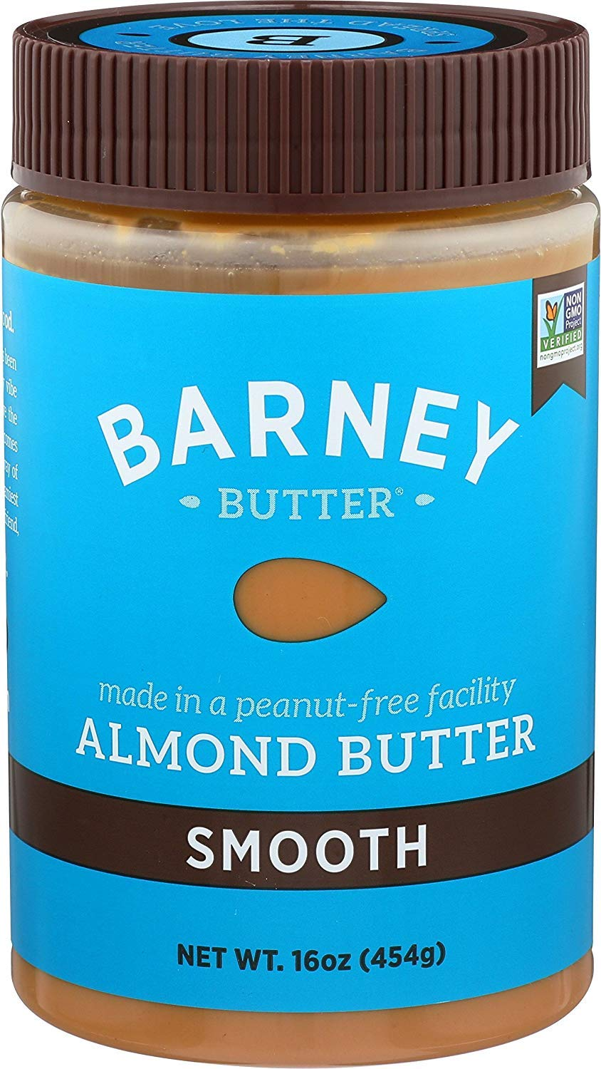 Barney Butter Almond Butter, Smooth, 16 Ounce (Limited Edition)