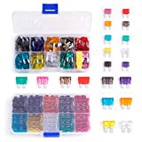 Petutu Blade Car Fuses Assortment Kit 220Pcs