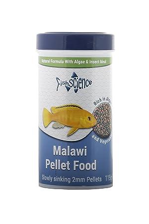 FishScience - Alimento de pellet para pescado de 115g de Cichlid ...
