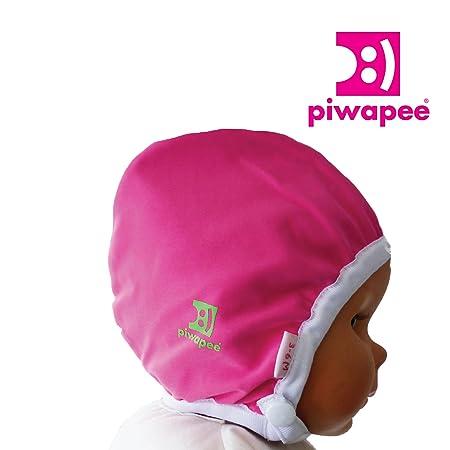 Piwapee - BONNET DE BAIN BB NAGEUR RAINETTE ROSE FRAMB. 6-12M TT47   Amazon.fr  Bébés   Puériculture 05432fa3c63