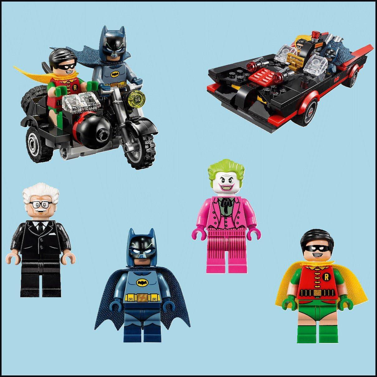 Batman LEGO Complet Couleur Autocollant Mural Transfert acheter individuellement ou ensemble complet 6 decal