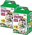 Fujifilm 16386016 Instax Mini Film (40 Aufnahmen) Multipack weiß