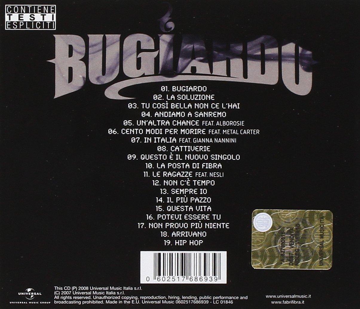 Fibra Fabri Bugiardo New Edition Bonus Tracks Repackaged Amazon Com Music