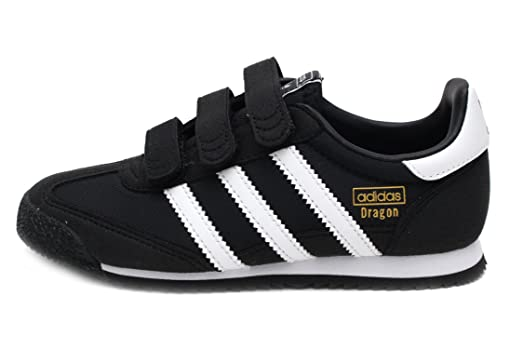 adidas dragon black and white