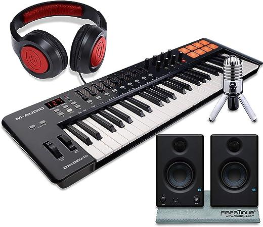 M-Audio Oxygen 49 MK IV 49 teclas USB MIDI teclado ...