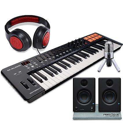 Amazon com: M-Audio Oxygen 49 MK IV 49-Key USB MIDI Keyboard