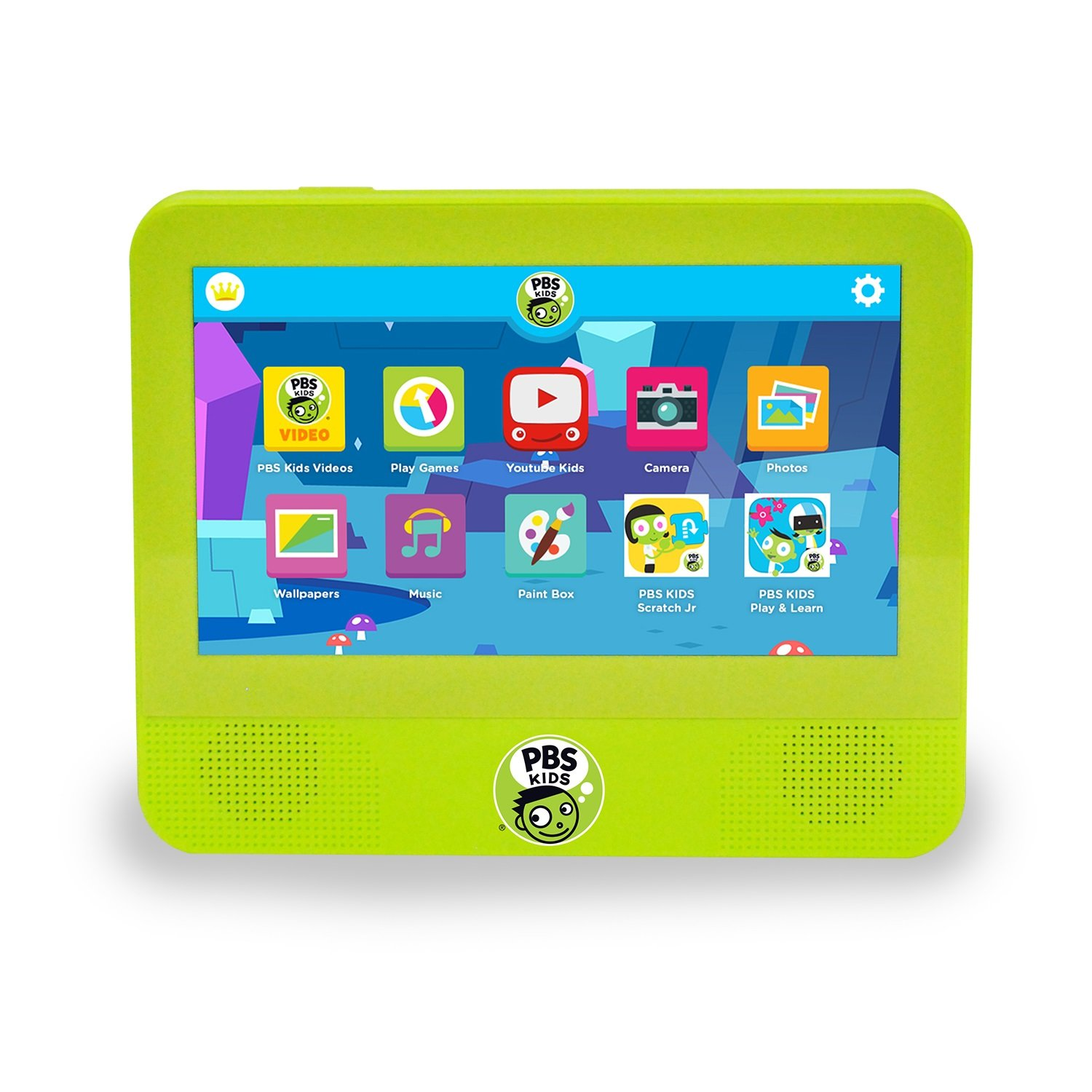 PBS Kids Playtime 7-Inch Android 7.0 (Nougat), 1.3 GHz Quad Core 16GB Tablet DVD Player