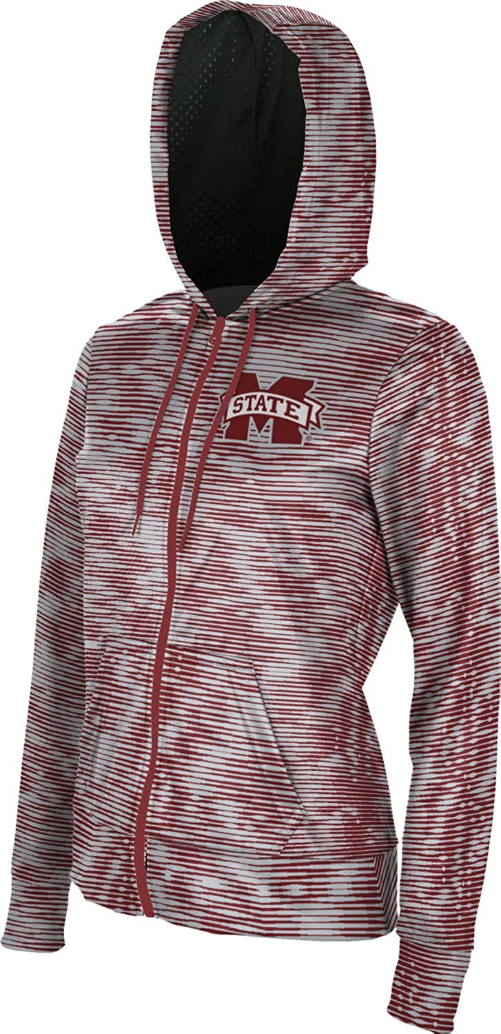 Velocity ProSphere Mississippi State University Girls Zipper Hoodie School Spirit Sweatshirt