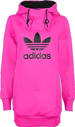 Barry de retirada  adidas - Sudadera con Capucha para Mujer de Manga Larga, Color Rosa y Negro  Rosa Blaze Pink S13/Black Talla:34: Amazon.es: Ropa y accesorios