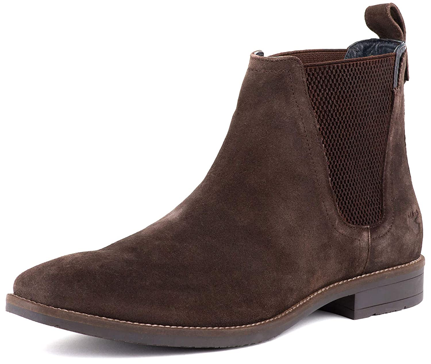 Goodwin Smith Mens FINCHLEY braun Suede Chelsea Stiefel