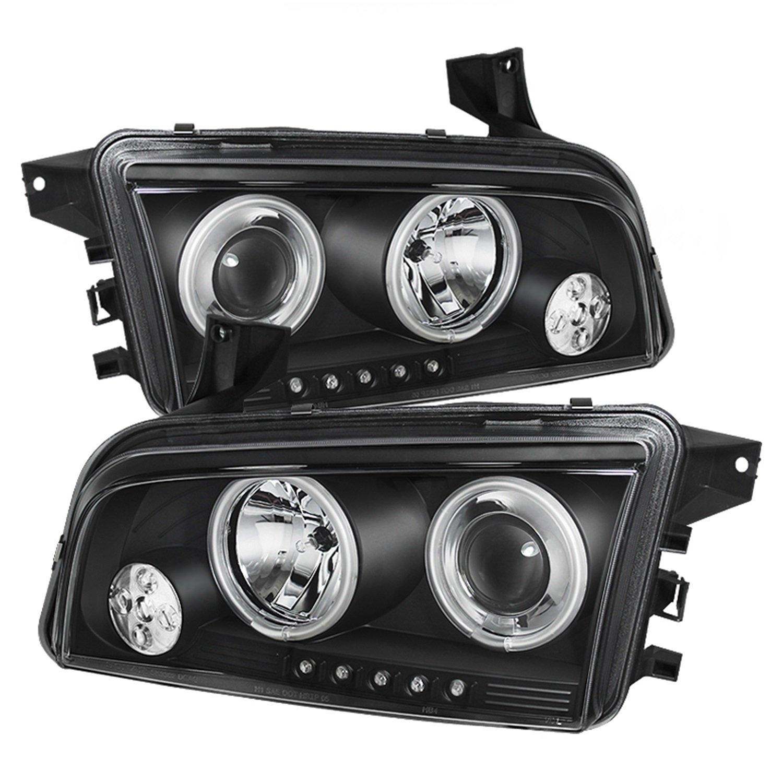Amazon com spyder auto dodge charger black ccfl led projector headlight automotive