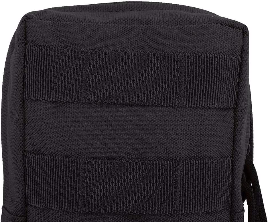 Molle Pouch EDC Bolsa para Accesorios 600D Nylon Compacto Resistente al Agua Multiusos Gear Hanging Accessory Bag