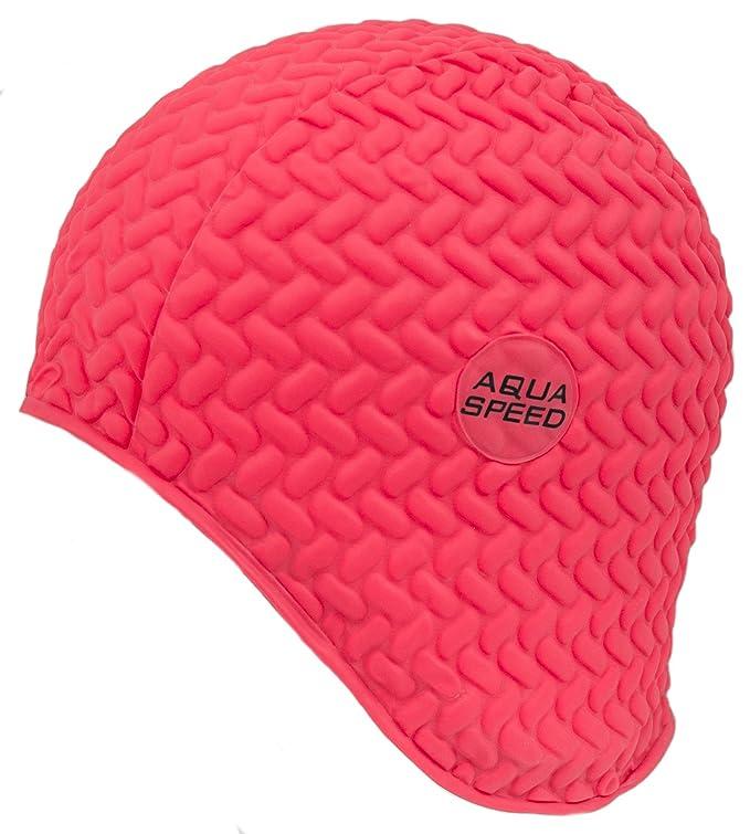 AQUA-SPEED donna berretto Cuffia da nuoto bomba TIC-tac  Amazon.it  Sport e  tempo libero ee5a6d1a9d30