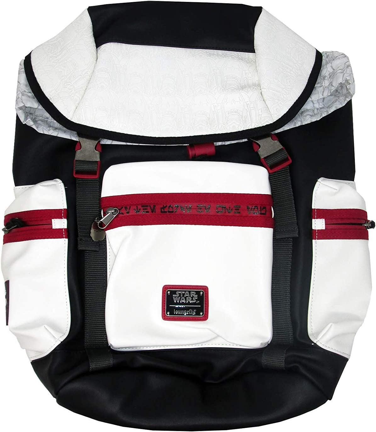 Loungefly x Star Wars White Stormtrooper Backpack (One Size, Multicolored)