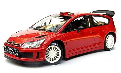 Amazon.com: 1/18 AutoArt 2004 Citroen C4 WRC Plain cuerpo ...