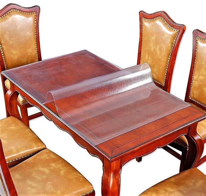 Amazon.com: Protector de mesa de plástico transparente ...