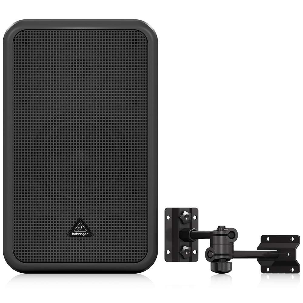 Behringer CE500A-BK High-Performance, Active 80-Watt Commercial Sound Speaker System by Behringer