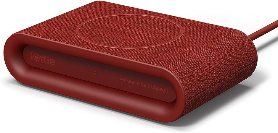 Iottie Ion Wireless Plus V2 Charging Pad Qi Zertifiziertes Ladegerät 7 5 W Für Iphone Xs Max R 8 Plus 10 W Für Samsung Galaxy S10 E S9 S8 Plus Edge Hinweis 9 Rubin Auto