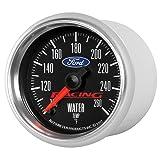 100-250/ºf Auto Meter AutoMeter 200762-40 Gauge Electric Marine Carbon Fiber Water Temp 2 1//16