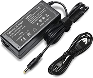 19V 3.42A Charger Compatible with Acer Aspire E15 E1-532-2635 E1-571 E1-531 E3 E5 E5-511 E5-571 E5-573 E5-573G E5-575 E5-576G E5-575G E5-521 E5-522 ES1 ES1-531 ES1-511 ADP-65JH DB PA-1650-02 ADP-65KB