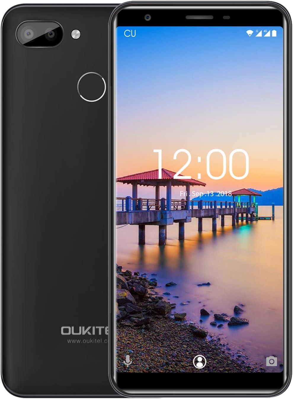 oukitel C11 Pro Android 8.1 Dual SIM Smartphone, 5.5 HD + 3400 mAh ...
