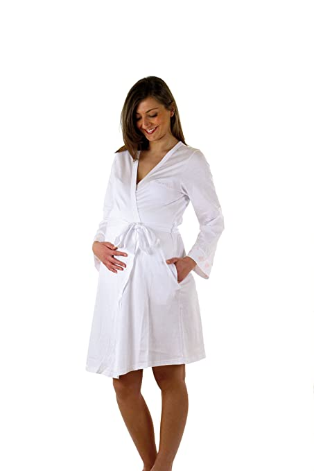 9 opinioni per Premamy- Vestaglia Parto Clinica Maternità- Colore: Bianco