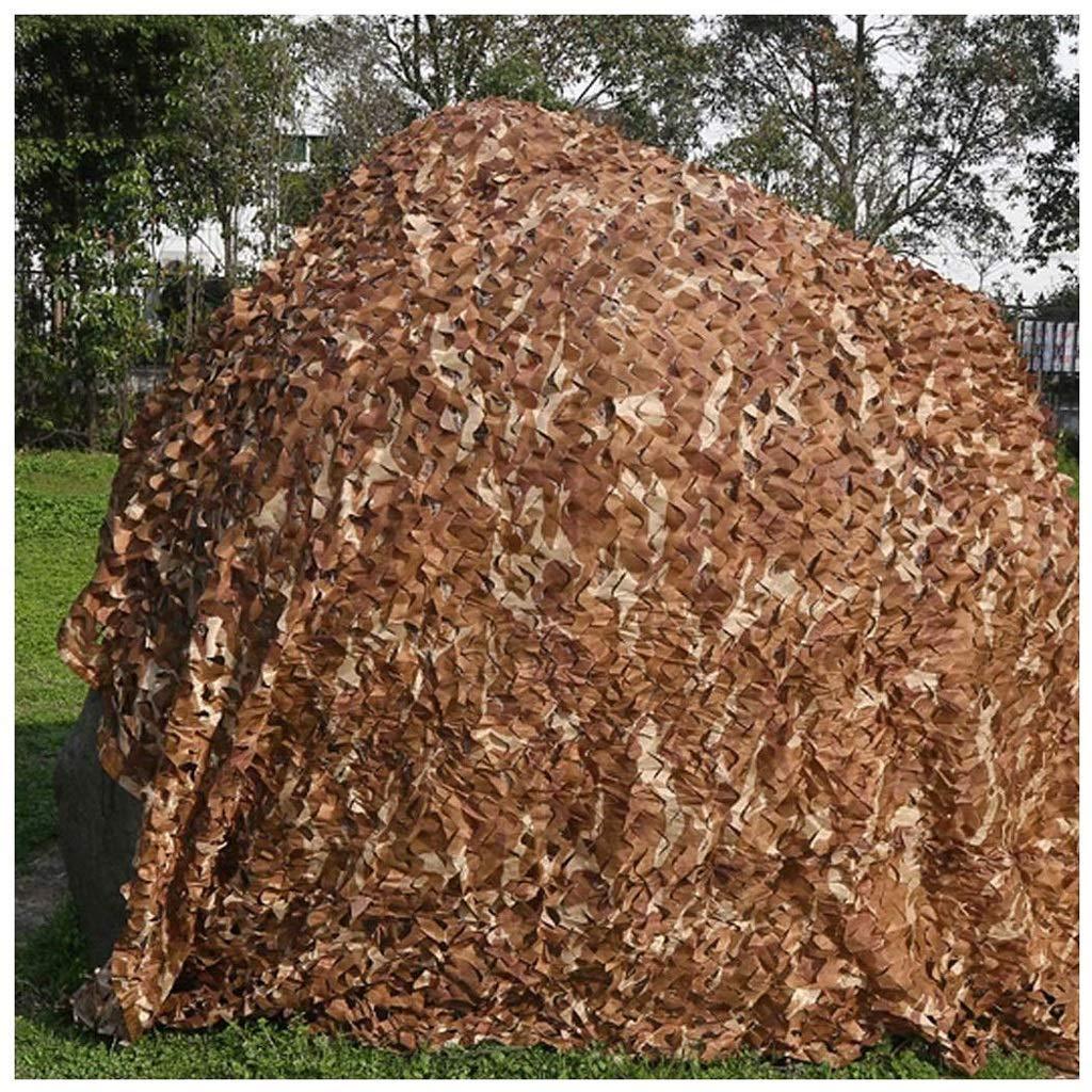 Camping & Outdoor AnnWZW Armee Tarnnetz Wüste Tarnnetz Sonnenschutz Mesh Netze 2x3m 3x5m für Militärjagd Schießen Blind Camping Verstecken Zelte Pergola Abdeckung Garten Schatten Weihnachtsfeier Dekorationen