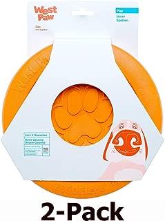 product image for West Paw Zogoflex Zisc Durable Dog Frisbee Nearly Indestructible Flying Disc Dog Toy