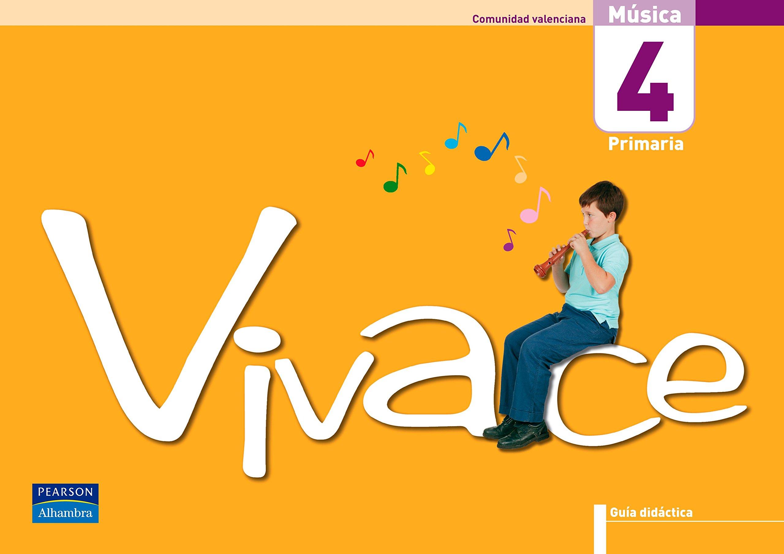 Vivace 4 guía didáctica Comunidad Valenciana - 9788420547619 ...