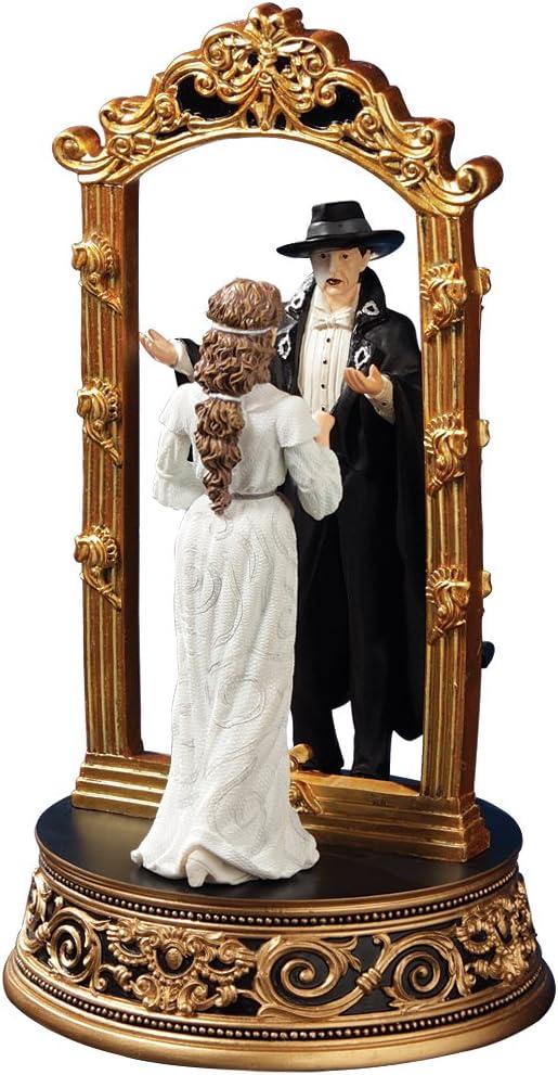 The San Francisco Music Box Company Phantom and Christine Mirror Figurine