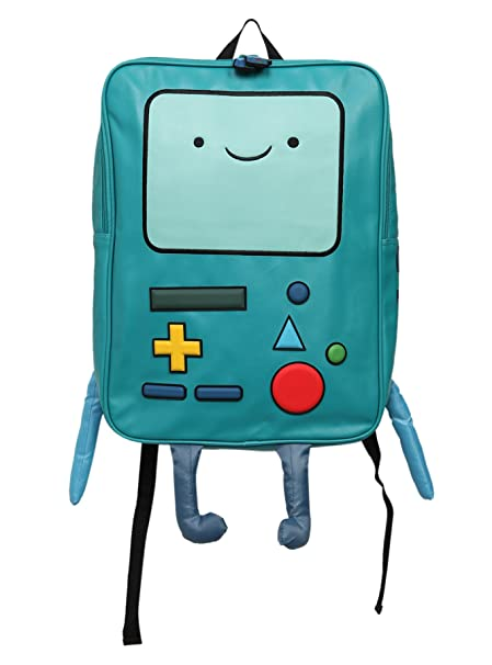 Image Unavailable. Image not available for. Color  Adventure Time large BMO  beemo backpack ... 1b8922932f