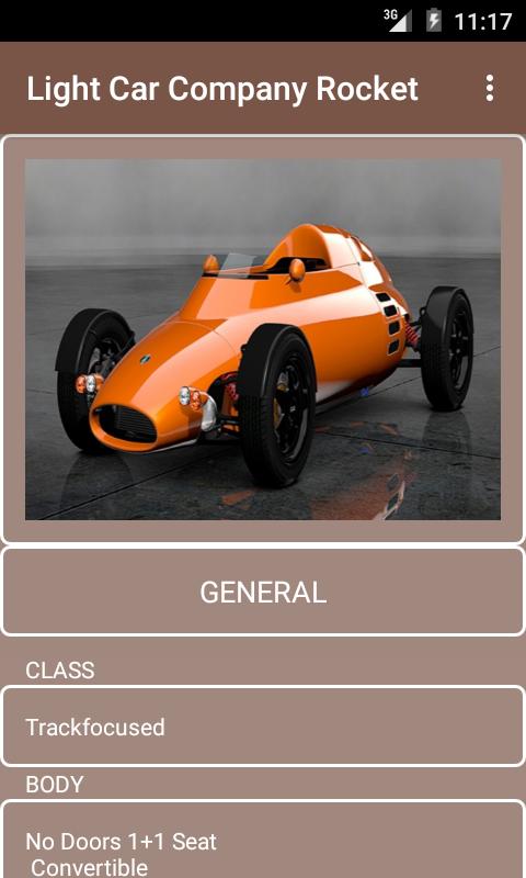 Light Car Company Rocket Price