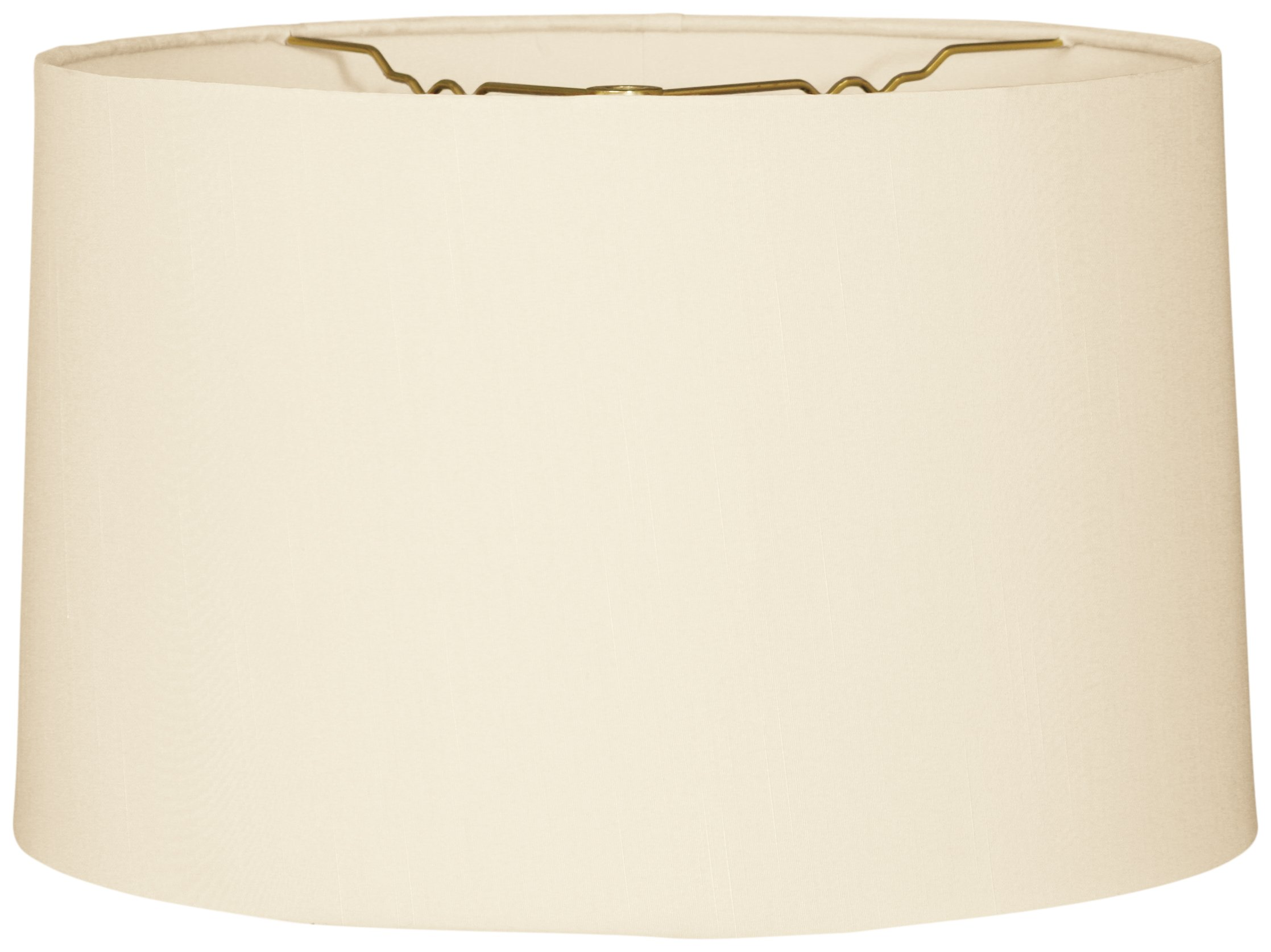 Royal Designs Shallow Drum Hardback Lamp Shade, Eggshell, 17 x 18 x 11.5 by Royal Designs, Inc