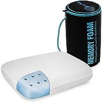 "Dreamsmart Travel Pillow, 90025, Memory Foam, White, 11"" x 10"""