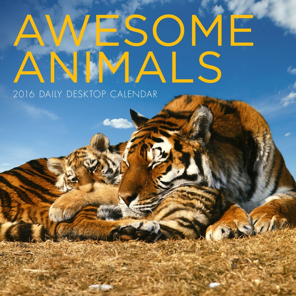 Awesome Animals Daily Desktop Calendar product image