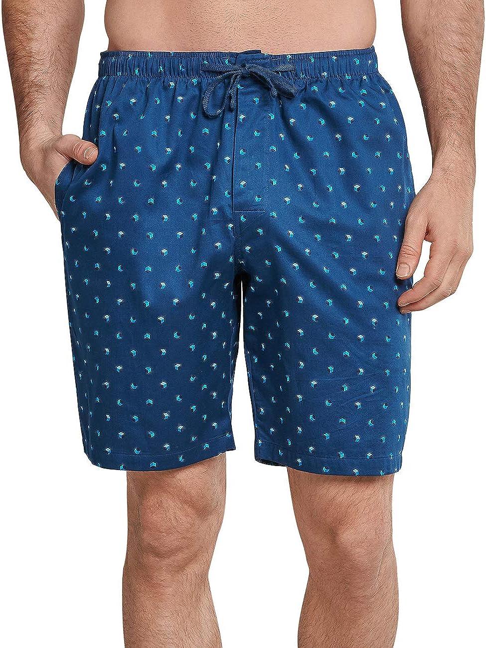 Schiesser Herren Mix /& Relax Bermuda Schlafanzughose