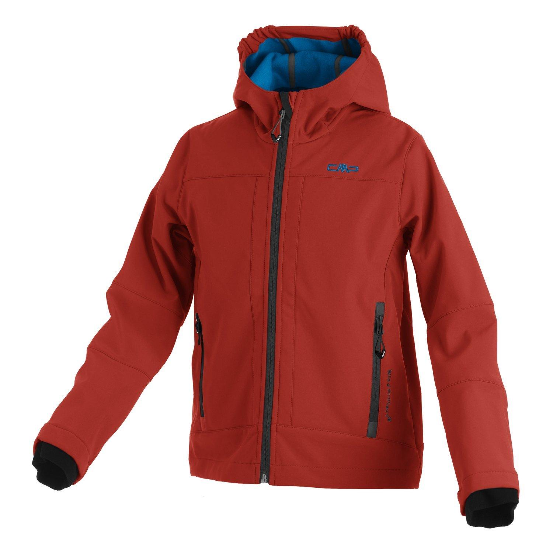 84b244b3863f Softshell Outdoor Jacke CMP für Kinder mit Fleece-Innenausstattung und  Kapuze. in vielen Farben erhältlich. Wasserabweisend mit Windstopper. Für  Schule.