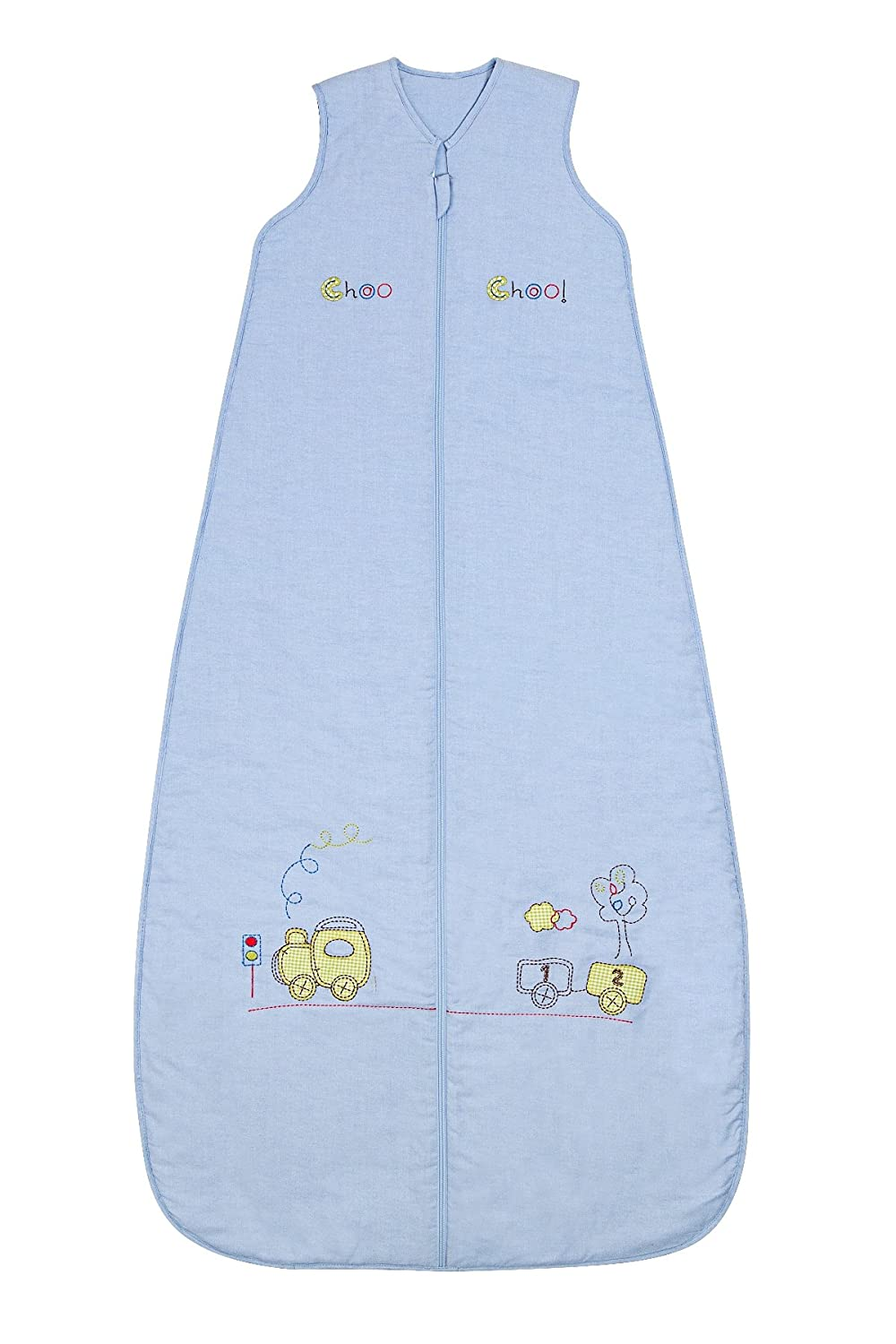 Slumbersac Baby Sleeping Bag 2.5 Tog - Train, 0-6 months