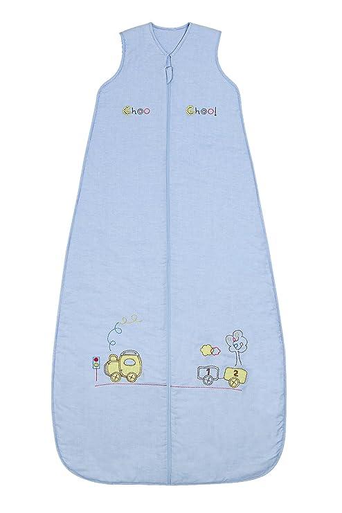 Saco de dormir de verano para niño Slumbersac 1.0 Tog Tren 6-10 años/150cm