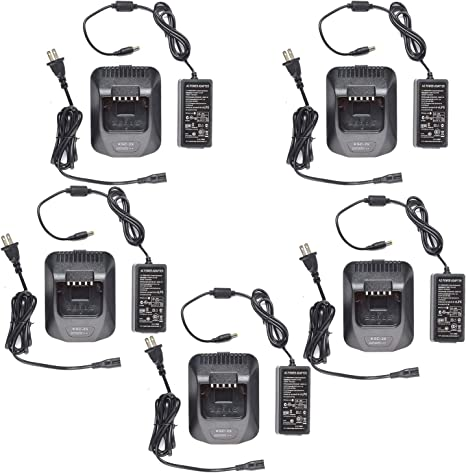 Rapid Charger KSC-25 for Kenwood NX-220 TK-2170 NX-320 TK-3170 Radio