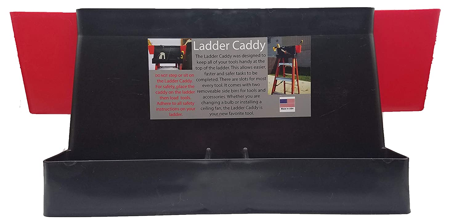 APSI Store Ladder Caddy Tool Holder Organizer and Carrier