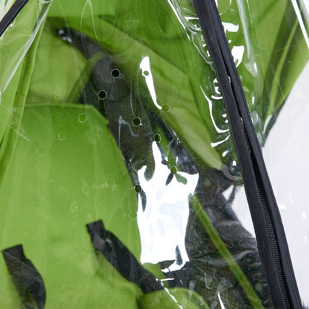 lomire parapioggia Universale per passeggino Facile montaggio a qualsiasi passeggino custodia di pioggia impermeabile Trasparente copertura di polvere Vento per carrozzina carrello da Beb/è