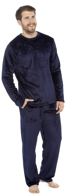 Pijama Forro Polar de Dos Piezas con Manga Larga Regalos Originales para Hombre CityComfort Pijama Hombre