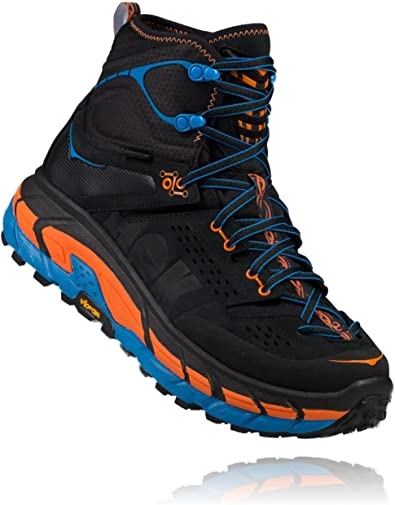 Hoka One - Zapatillas de Running de Cuero, Tela para Hombre Gris Anthracite Orange Clown Fish, Color Gris, Talla 48 EU: Amazon.es: Zapatos y complementos